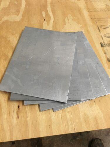 "10"" X 11"" X .125 3003 H14 Aluminum Sheet 100 Pcs"