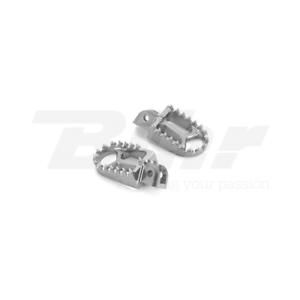 ARTICLE-FLOORBOARDS-INCREASED-ERGAL-GRIGIO-CNC-FOOTPEGS-TM-EN-125-2005-2018