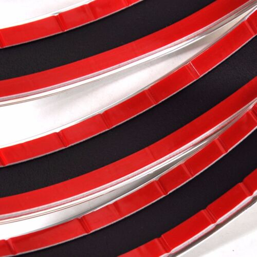 25mm x 3m CHROMLEISTE ZIERLEISTE UNIVERSAL SELBSTKLEBEND FLEXIBEL AUTO VAN PKW