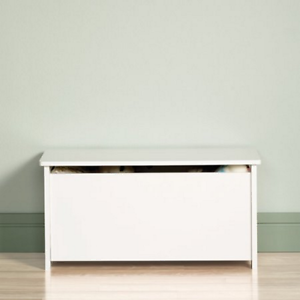 Details about Boys & Girls Toy Chest Box White Storage Organizer Childrens  Bedroom Play Room