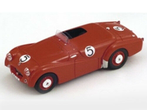 RARE Spark Model 1 43 SA060 Triumph TR2  5 5 5 Winner Macau GP 1954 Carvalho NEW dbe0a7