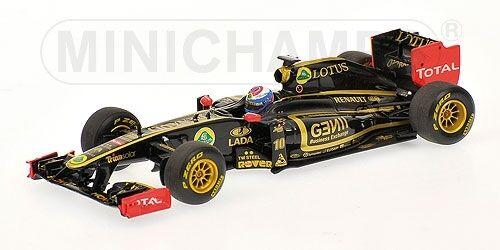 Lotus renault gp r31 v. petrov 2011 formel - 1 - 1 43 modell minichamps
