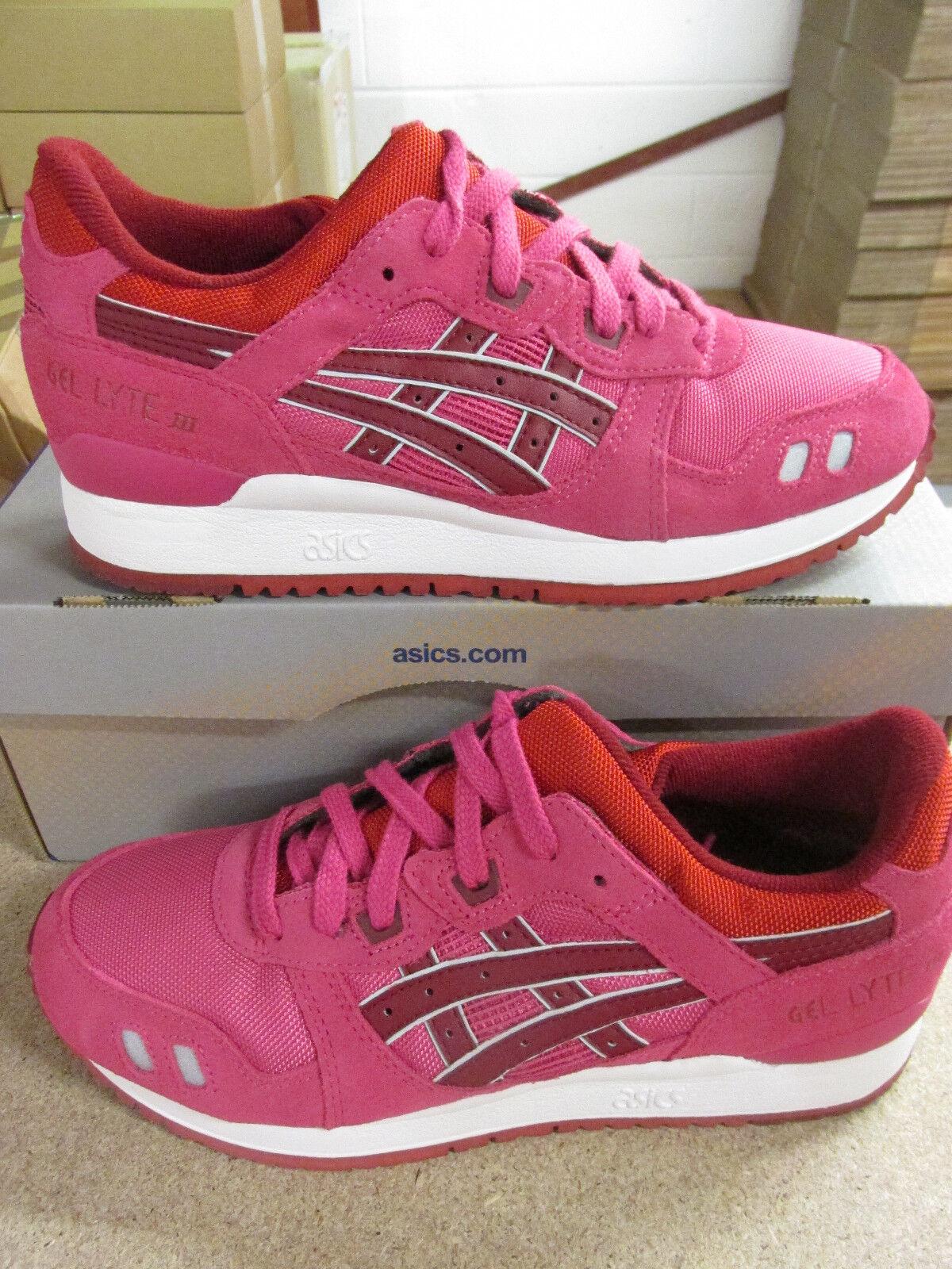 ASICS Gel-Lyte III 3 Da Donna Scarpe da ginnastica H483N 2526 Sneaker Scarpe Scarpe classiche da uomo