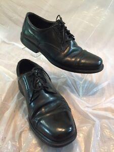 Men S Bostonian Wenham Flexlite Black Leather Lace Up Cap