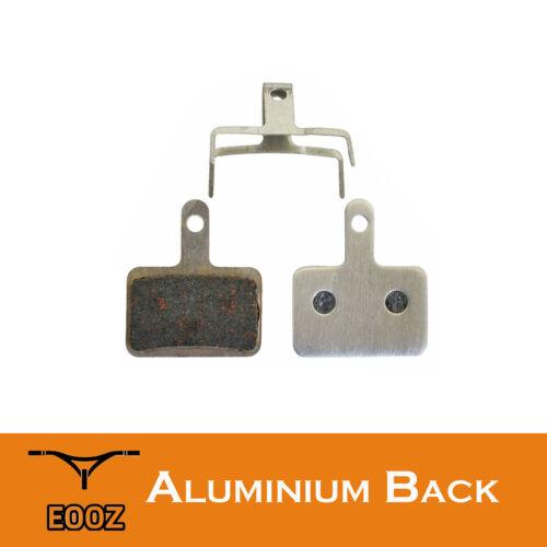 New 10 Pr Lightweight Bike Semi-metallic Disc Brake Pad AL Back For SHIMANO M446