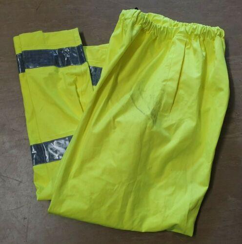 USED Ex Police Waterproof Gore-Tex Hi Vis Over Trousers Size Medium Short MS