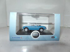 Oxford 76MGB004 MGB004 1/76 OO Scale MG MGB Roadster Iris Blue