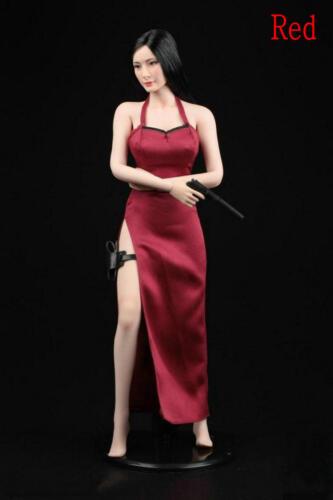 "1//6 Scale Accessorie Formal Dress Woman Killer Cheongsam Suit F12/"" Female Figure"