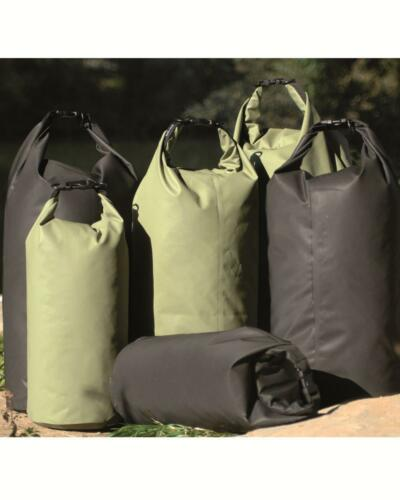 Keeps it all dry Waterproof  bag sack dry bag range of sizes OLIVE or BLACK