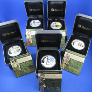 2011-2012-FAMOUS-BATTLES-IN-AUSTRALIAN-HISTORY-COMPLETE-SET-5-SILVER-COINS