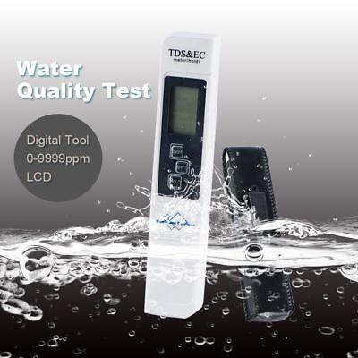 Digital TDS /& EC Meter Water Quality Purity Tester Aquarium Pool Home Water Test