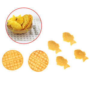 1-12-Dollhouse-Miniature-Waffle-Taiyaki-Food-Model-Kitchen-Accessories-T-kl