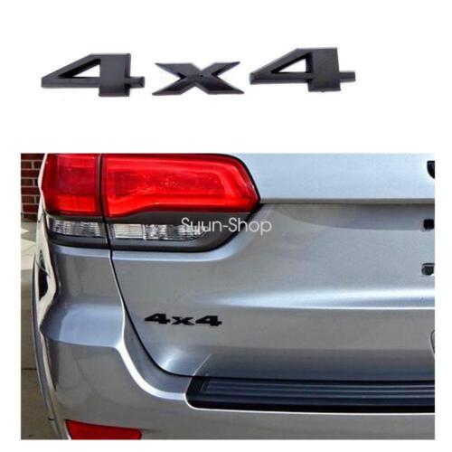Black 3D 4X4 Auto Car Logo Decal Emblem Sticker Badge for Jeep Dodge Ford Truck