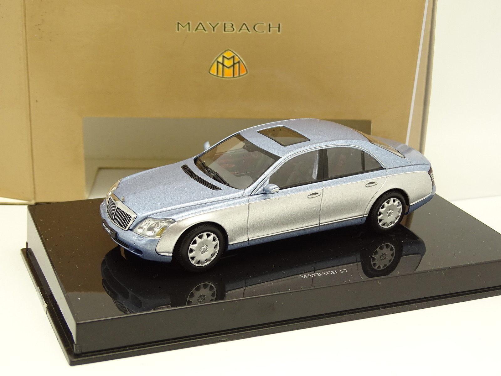 Auto Art 1 1 1 43 - Maybach 57 blue und grey 1be122