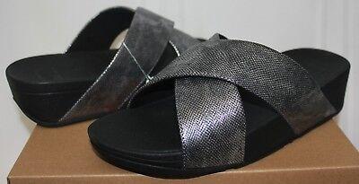 fitflop lulu shimmer black
