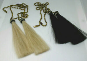 New-Western-Decor-Horsehair-Light-Fan-Pulls-Rodeo-Cowboy-Home-RV-Office