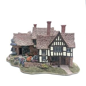 Lilliput-Lane-THE-ALMONRY-119-Boxed-With-Deeds-1996-Founders-Choice