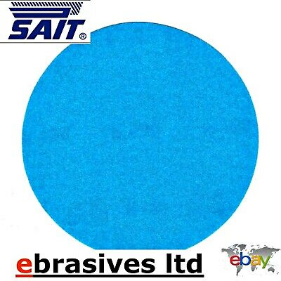 Per 25 discs. 180mm Diameter silicon carbide P120 hook and loop sanding discs 7