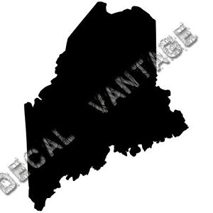Maine-Vinyl-Sticker-Decal-State-ME-Choose-Size-amp-Color