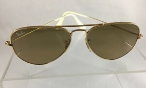 7a84082e3a RAY BAN Aviator Sunglasses RB 3025 006/3K Brown Mirror Lenses ...