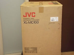 JVC-XL-MC100-Compact-Disc-100-disc-auto-changer-CD-Player-NEW-in-Box