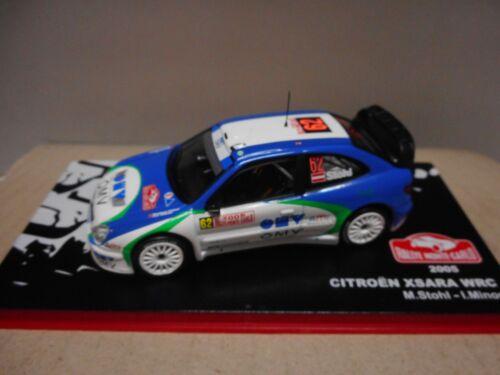 CITROEN XSARA WRC RALLY 2005-2010 ALTAYA IXO 1:43