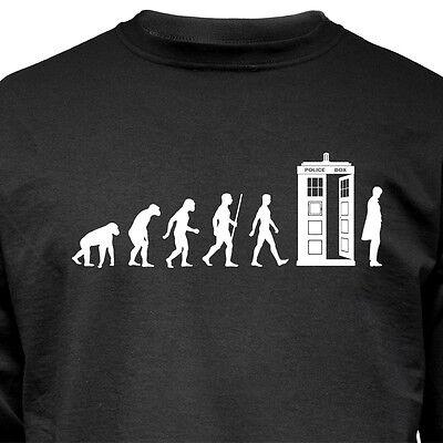 """Nukular Turnbeutel Motiv /""""Tardis Evolution/"""" für Fans von Doctor Who lustig Affe"""