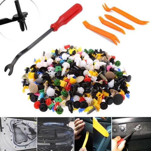 505pcs//Set Car Fasteners Clips Rivet Retainer Body Door Trim Panel Removal Tools