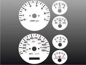 1996-1998-Jeep-Grand-Cherokee-Dash-Cluster-White-Face-Gauges-96-98