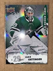 Jake Oettinger NHL Upper Deck  2020-21 RARE Rookie Class Series 2 #RC-2