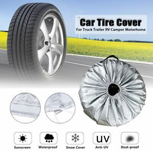 Tire-Cover-Case-Car-Spare-Wheel-Cover-Tyre-Storage-Bag-Carry-Tote-210D-Polyester