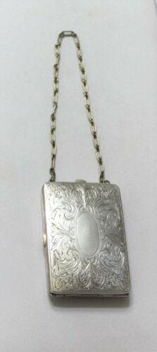 Antique Vintage 1910's Edwardian Silver Change Pur