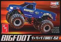 Amt Ford F-150 Big Foot Monster Truck Snap Together Model Kit 1/32