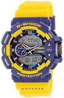 Casio Men's G-Shock GA400-9B Blue Plastic Quartz Watch