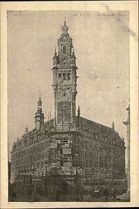 Lille-France-CPA-1920-30-Partie-an-der-neuen-Boerse-Nouvelle-Bourse-ungelaufen