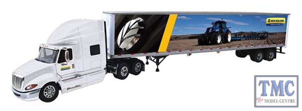 60-0210 First Gear 1 64 International ProStar+ 53' Trailer New Holland Agricultu