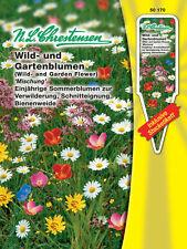 Wildblumen & Gartenblumen Mischung einjährig, Bienenweide Samen Saatgut 50170