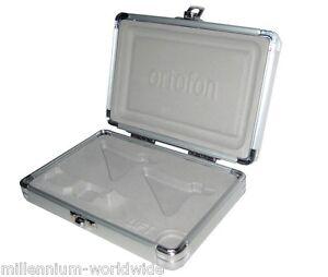 NEW-ORTOFON-CONCORDE-TWIN-CARTRIDGE-METAL-FLIGHT-CASE