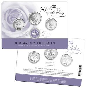 2016-QEII-90th-Birthday-Royal-Collection-Frosted-Unc-Three-Coin-Set-RAM