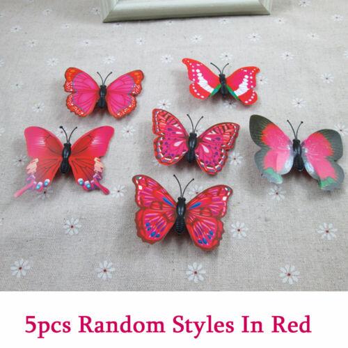 5 Pcs Mini Schmetterling Haarspangen Hochzeit Kopfschmuck  Haarspange Zubehör