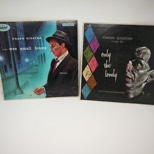 FRANK SINATRA Signed Autographed Record Vinyl LP Capitol Records Era COA
