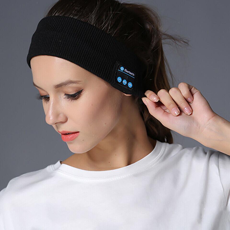 Sleep Bluetooth Headband Headset Wireless Earphone Sport HD