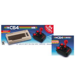 The C64 Mini Retro Gaming Console + Retro Games C64 Extra Controller
