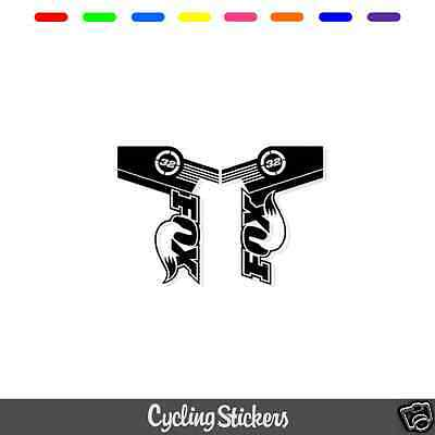 Fox 32 Style Suspension Fork Decal/Stickers | Replacement | Racing | Ride