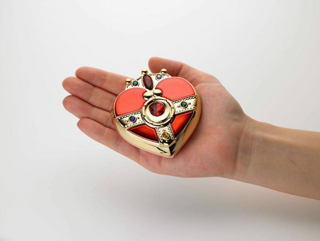 Compatto di Sailor Moon SuperS Miracle Rouomoce Powder Cosmic Heart