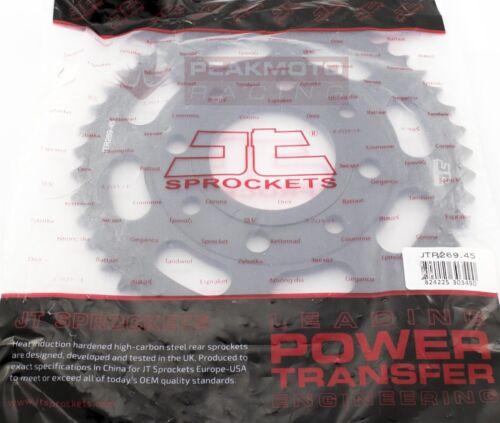 JT Sprockets JTR269.45 Black Steel Rear Sprocket 45T For Honda XL100S 1979-1980
