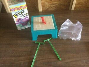 1999 HASBRO VINTAGE GAME DON'T BREAK THE ICE BOARD GAME 100% COMPLETE