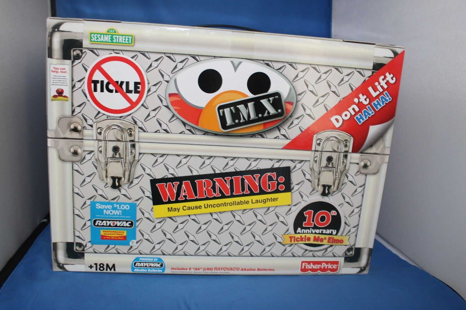 edición limitada Tmx Tickle Me Elmo Top Top Top Secret 10th aniversario Toy-Nuevo en caja sin abrir  tienda de venta en línea