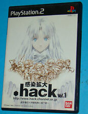 Hack Part 1 - Infection - Sony Playstation 2 PS2 Japan - JAP