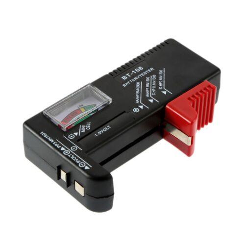 C AA AAA D 9 V 1,5 V Universal Knopfzelle Volt Tester BT-168 ED